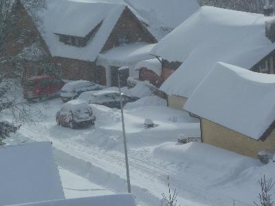 Kniebis Schneehöhe